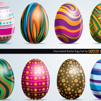 Free Vector Easter Eggs - vector gratuit #202399