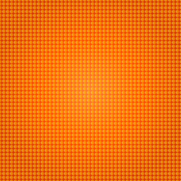 Orange Halftone Vector - vector gratuit #202539