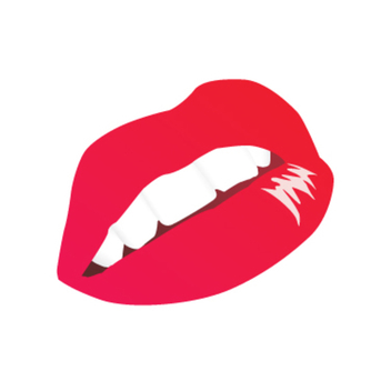 Free Vector Red Lips - vector gratuit #202669