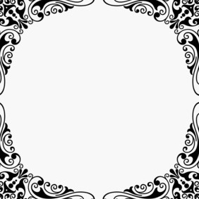 Corner Design Ornament - Free vector #202929
