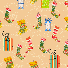 Vector Seamless Pattern 409 - vector #202989 gratis