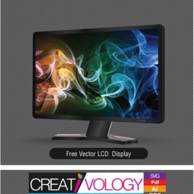 Free Vector LCD Display 2 - Free vector #203219