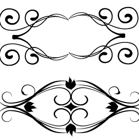 Floral Vector Set 164 - Free vector #203269