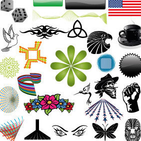 Free Vector Pack Volume 4 - Kostenloses vector #203429