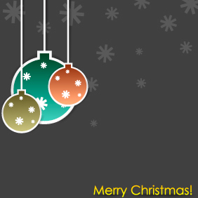 Christmas Illustration 10 - Free vector #203449