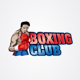 Boxing Club Logo - vector #203659 gratis