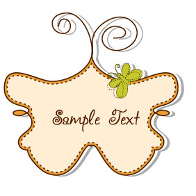 Doodle Vector Frame 5 - Free vector #203719