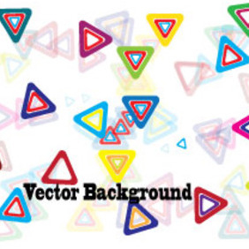 Triangle Colored Design Vector Graphic - Free vector #203869