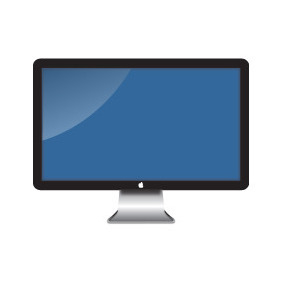 Apple Screen Lcd - vector #203919 gratis