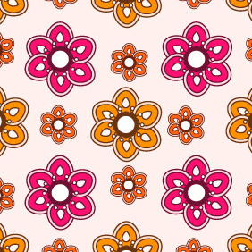 Seamless Pattern 203 - Free vector #203949