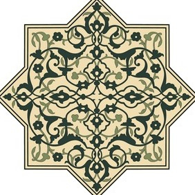 Afghan Ornamental Pattern - Free vector #203959