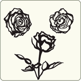 Roses 2 - Free vector #204629