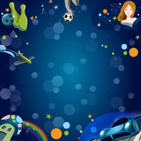 Game Background - vector gratuit #204739