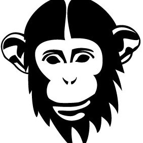 Chimp Vector - vector #205019 gratis