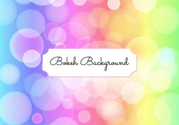 Elegant Bokeh Background - vector gratuit #205199