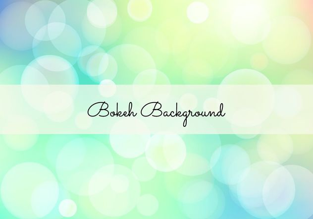 Elegant Bokeh Background Illustration - vector #205219 gratis