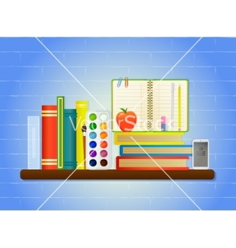 Free school education items vector - бесплатный vector #205359