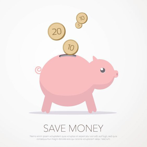 Save Money - Free vector #205379