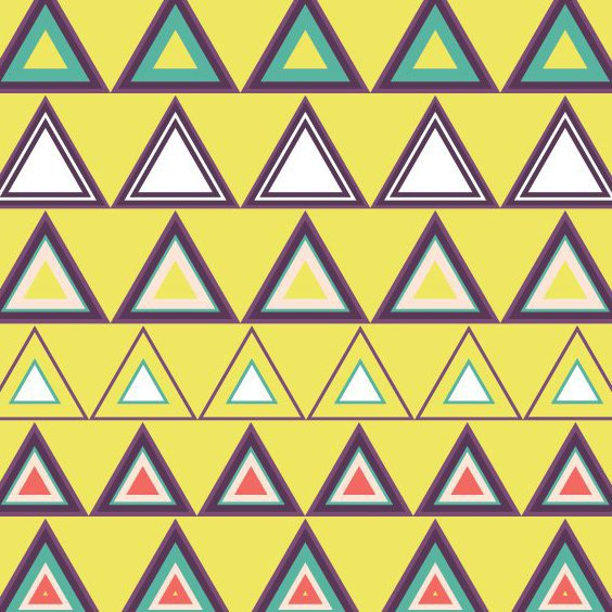 Seamless Triangle Pattern - Free vector #205389