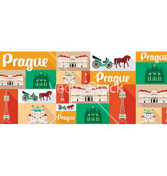 Free travel and tourism icons prague vector - vector #205509 gratis
