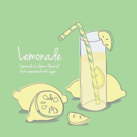 Lemonade - Free vector #205539