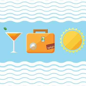 Travel Icons - vector gratuit #205549