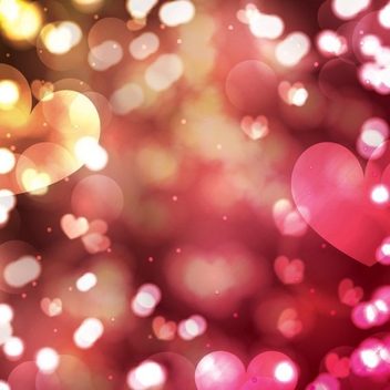 Valentine's Day Background - vector gratuit #205869
