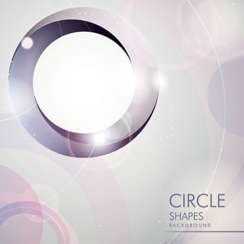 Circle Shapes - vector gratuit #205879