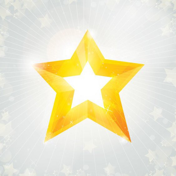 Christmas Star - Free vector #205999