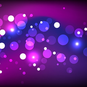 Magic Sparkling Background - vector #206429 gratis