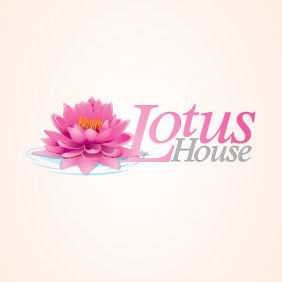 Lotus Flower Logo - vector gratuit #206509