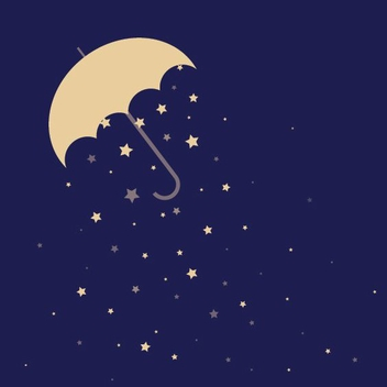 Rainy Night - vector gratuit #206529