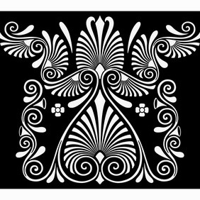 Abstract Ancient Greek Ornament - Free vector #206959