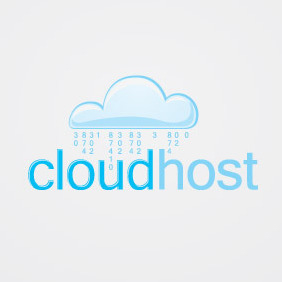 CloudHost - Free vector #207149