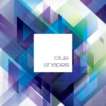 Blue Diagonal - vector #207739 gratis