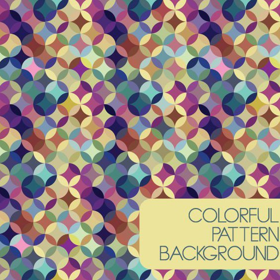 Colorful Pattern Background - Free vector #207959