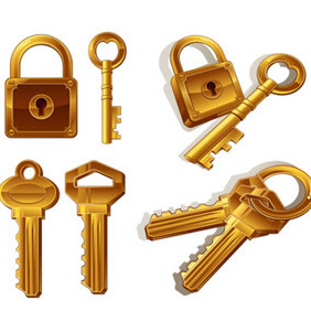 Key Illustrations - Free vector #208249