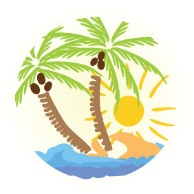 Summer Illustration 2 - vector #208819 gratis
