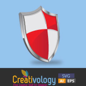 Free Vector Shield Icon - vector gratuit #208919