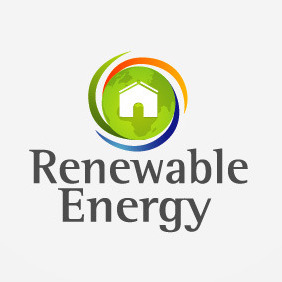 Renewable Energy Logo 03 - Kostenloses vector #209109