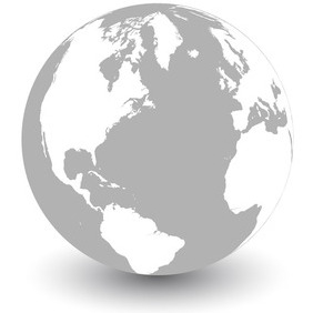 Earth Globe Vector - Free vector #209169
