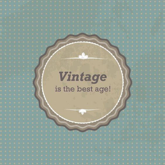 Vintage Sign - Free vector #209289