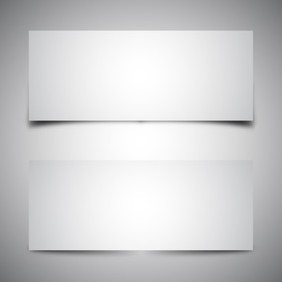 Vector Box Shadows - Free vector #209629