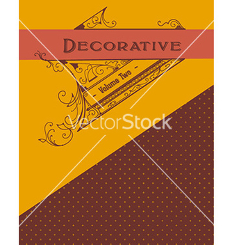 Free vintagfe decorative vector - бесплатный vector #209929