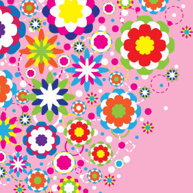 Abstract Colorful Background Design - vector #210039 gratis