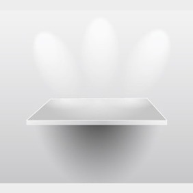 Presentation Shelf - Free vector #210339