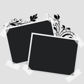 Free Vector Photo Frame - vector gratuit #210369