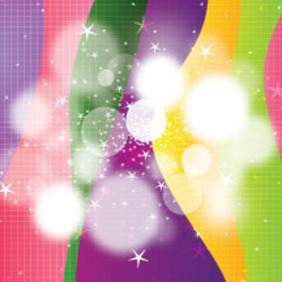 1000 Line Colored Vector Design - бесплатный vector #210669