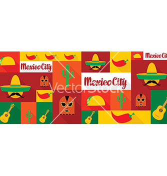 Free travel and tourism icons mexico vector - vector #210719 gratis