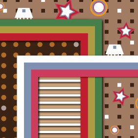 Retro World - vector #211189 gratis